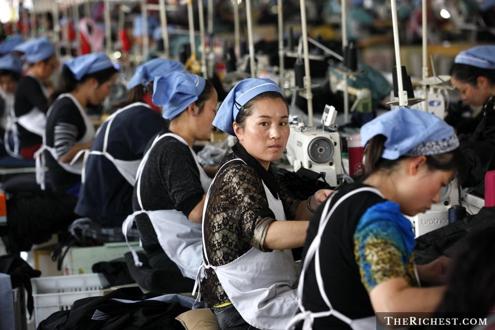 15. Китай – 568 миллиардеров.