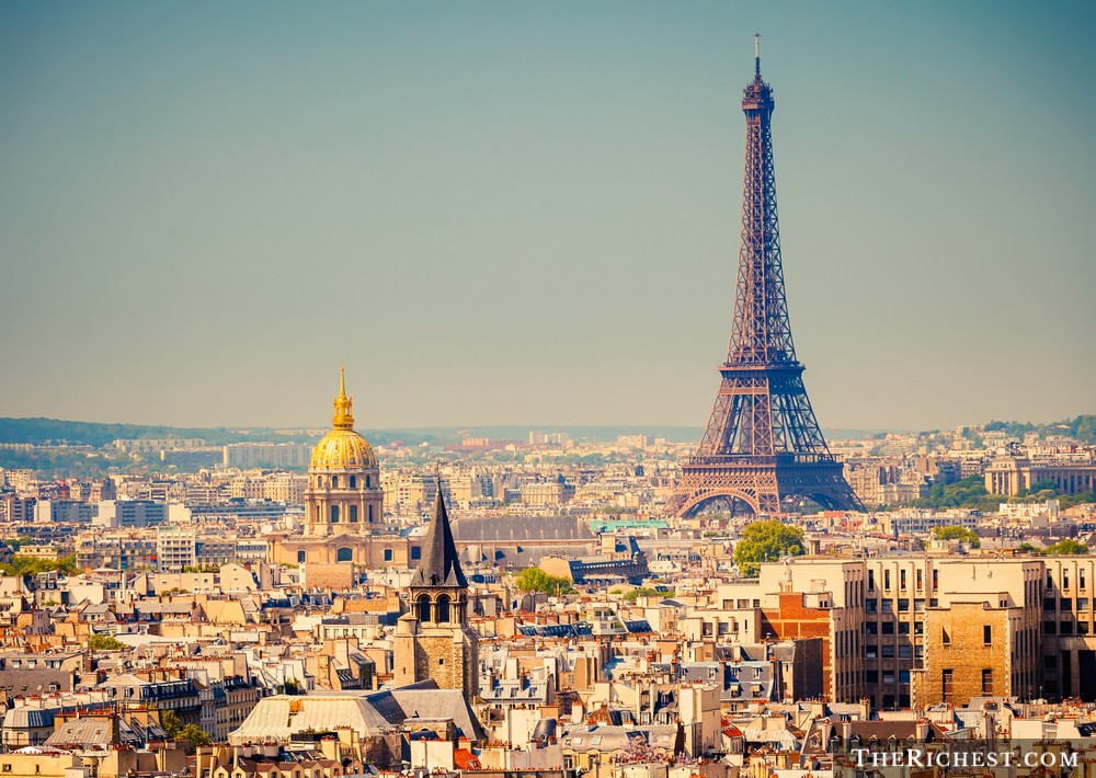 8. Франция – 51 миллиардер.