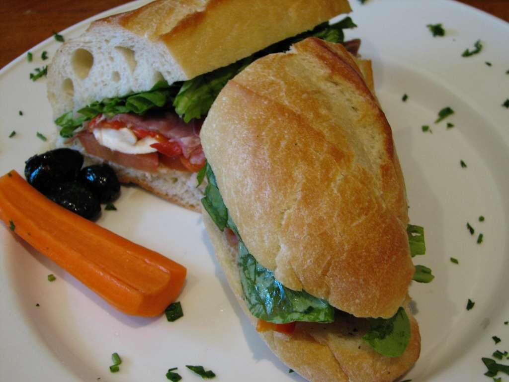 4. Сэндвич.