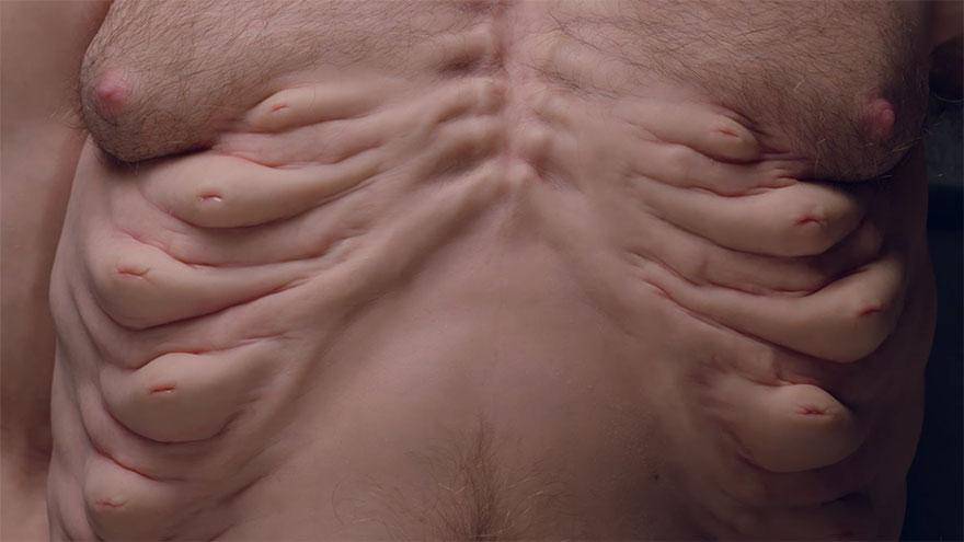 5. Тело Грэма имеет несколько сосков, которые защищают его ребра подобно естественным подушкам безопасности.