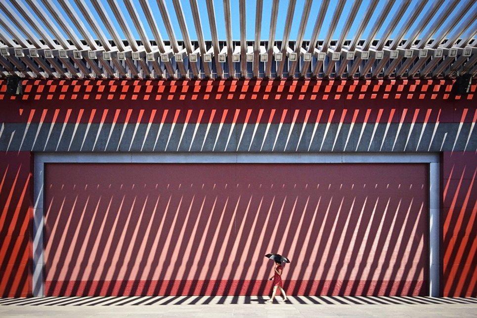 10. Категория «Закат». 2-е место. Фотограф Юнмэй Ван.