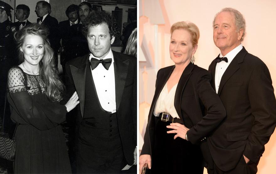 1.  Мерил Стрип и Дон Гаммер - 37 лет вместе.