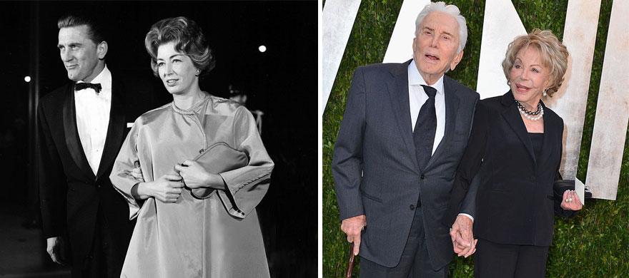 2. Кирк Дуглас и Энн Байденс - 62 года вместе.