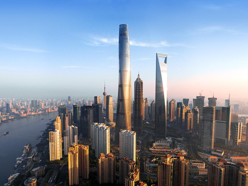 10. Шанхайская башня.