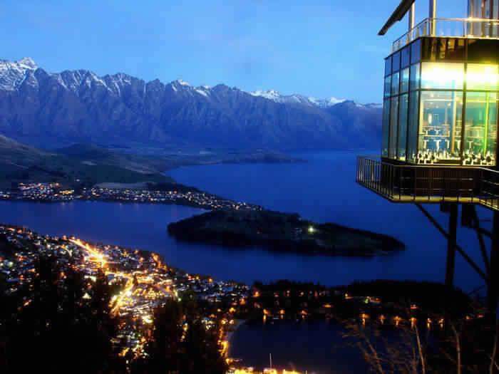 1. Ресторан Skyline, Квинстаун, Новая Зеландия.