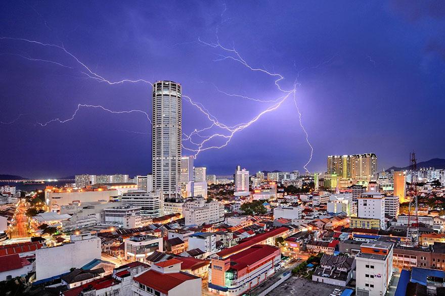 11. Третье место в номинации «Города»: «Небесная фантазия», Пинанг, Малайзия.
