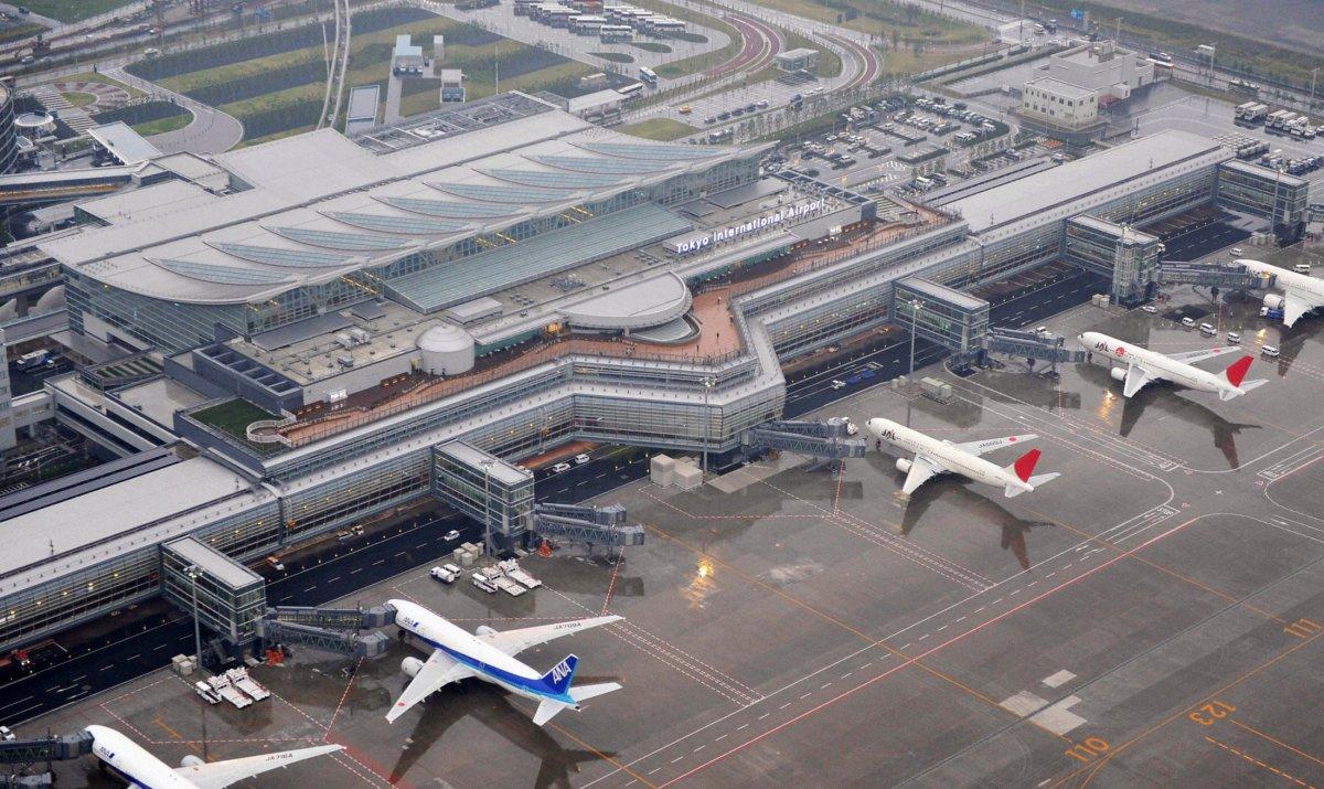 12. Международный аэропорт Токио. Пассажирооборот – 75 316 718 пассажиров.