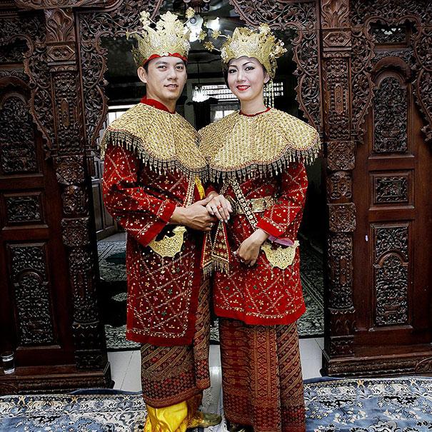 14. Свадьба в Джакарте (Индонезия).