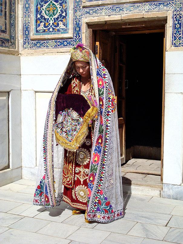 15. Невеста в Узбекистане.