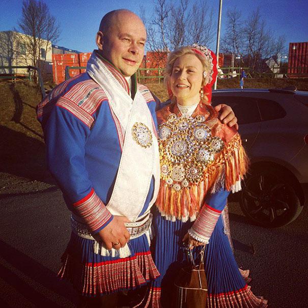 16. Традиционная саамская свадьба (саамы – коренной народ Северной Европы).