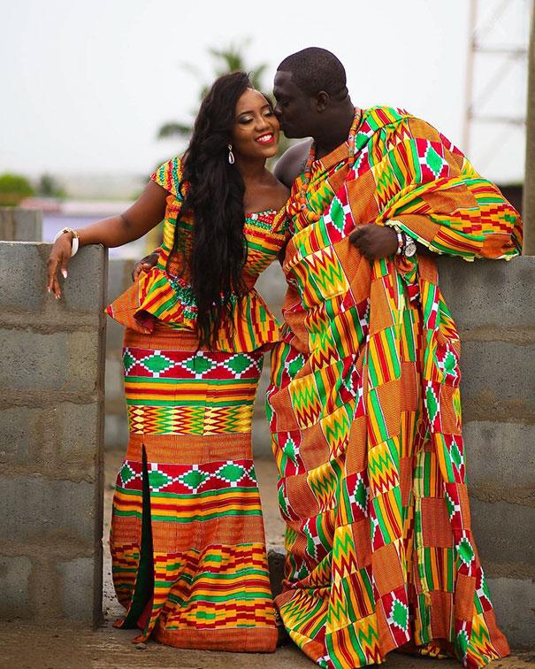 4. Традиционная свадьба в Гане.