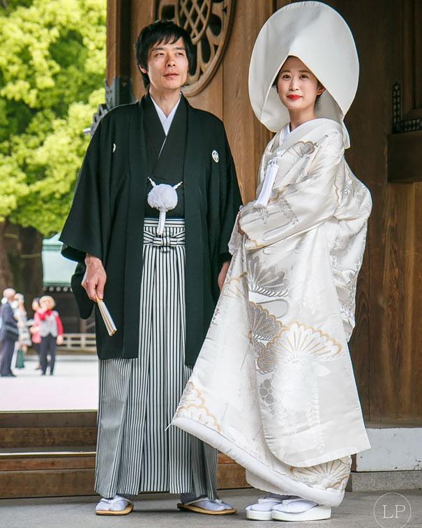 6. Японская свадьба.