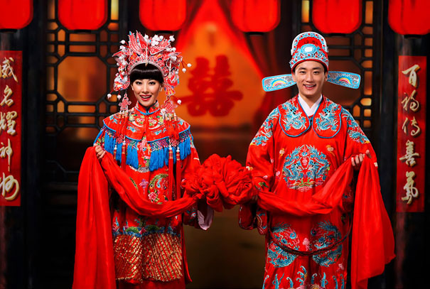 8. Китайская свадьба.