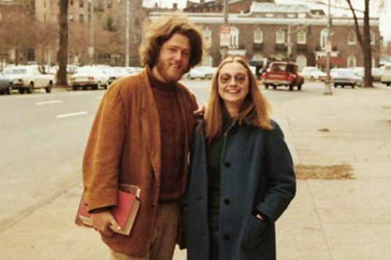 фото клинтон в молодости