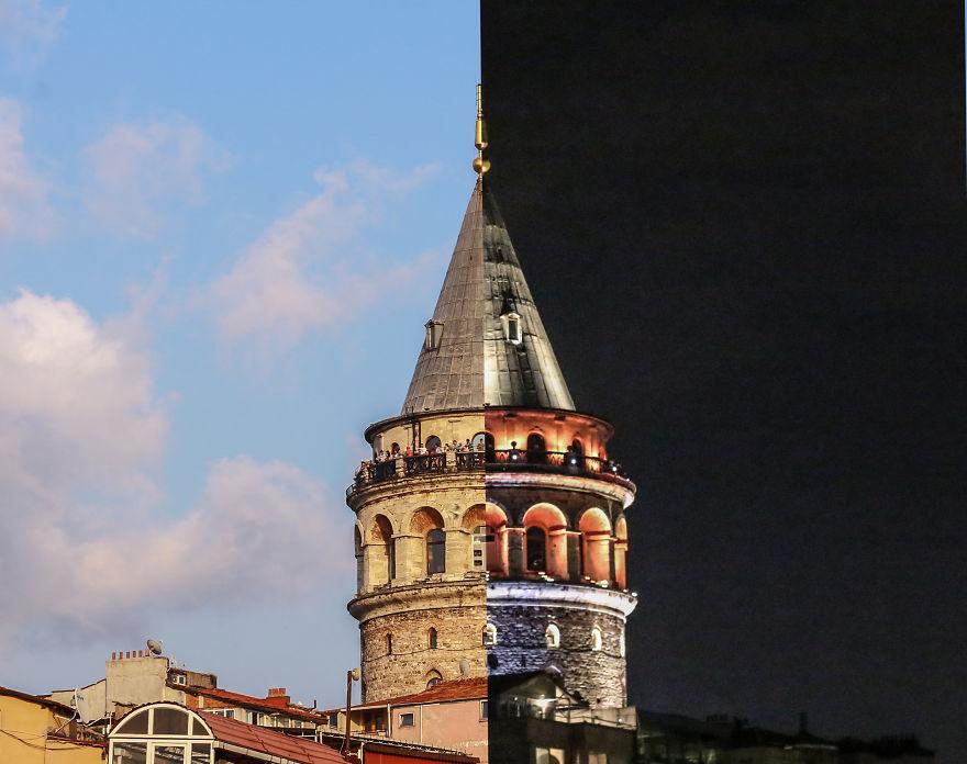 2. Галатская башня.