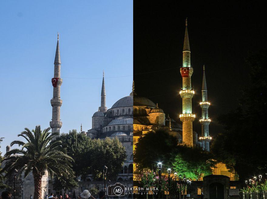 3. Мечеть Султанахмет (Голубая мечеть).