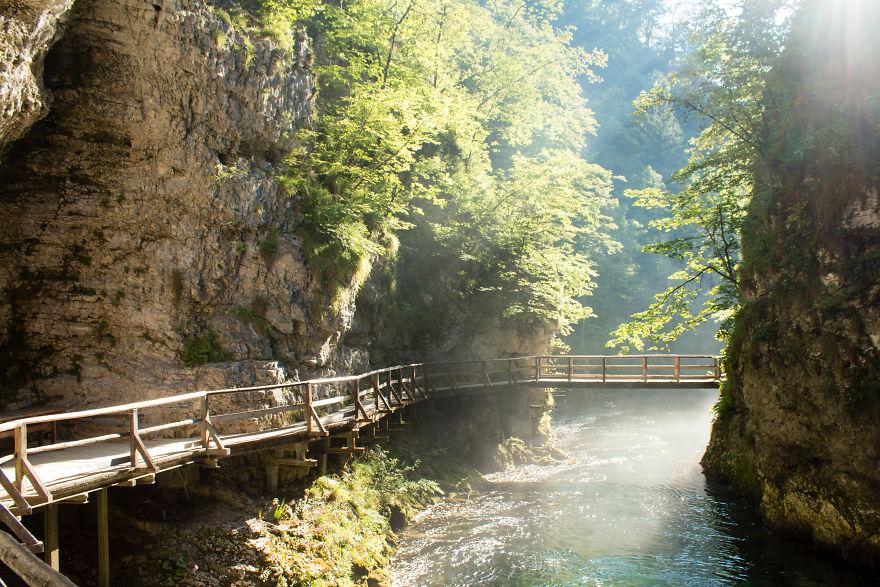 13. Ущелье Винтгар, Словения.