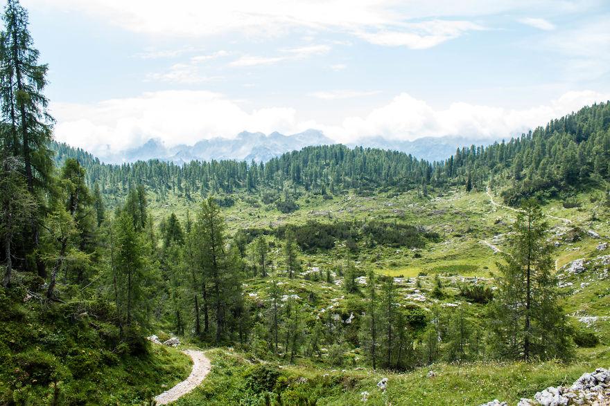 14. Национальный парк Триглав,Словения.