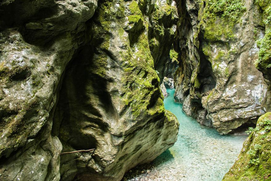 17. Толминское ущелье, Словения.