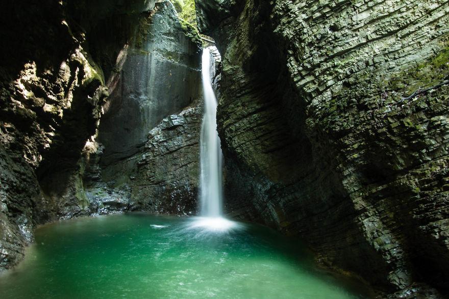 18. Водопад Козяк, Словения.