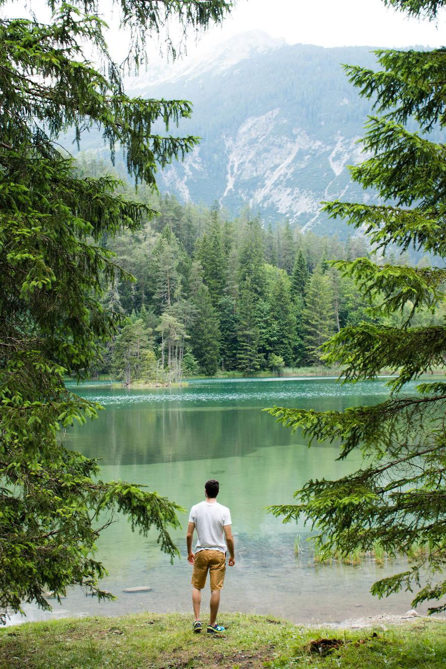 3. Озеро Вайсензее, Германия.