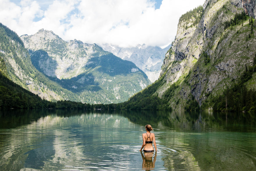 7. Озеро Оберзее, Германия.