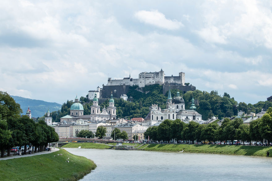 8. Зальцбург, Австрия.