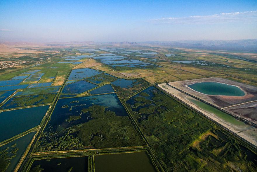6. Рыбные фермы близ Ерасха, Араратская область.