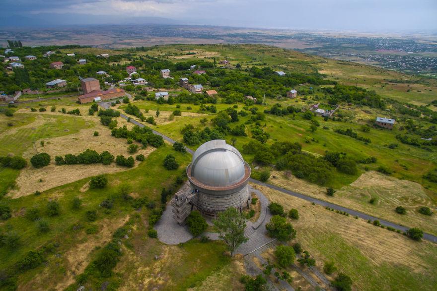 9. Бюраканская астрофизическая обсерватория, Арагацотнская область.