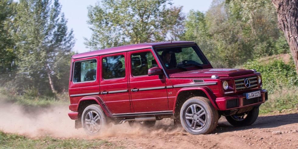 1. Mercedes-Benz G550.