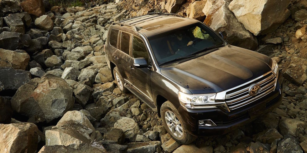 5. Toyota Land Cruiser.