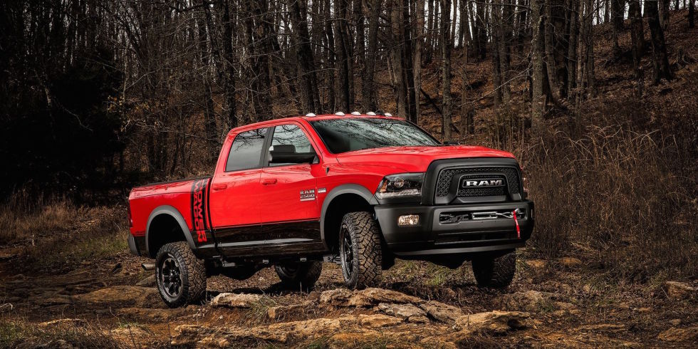 7. RAM Power Wagon.