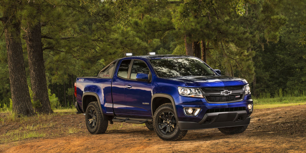 9. Chevrolet Colorado Trail Boss.