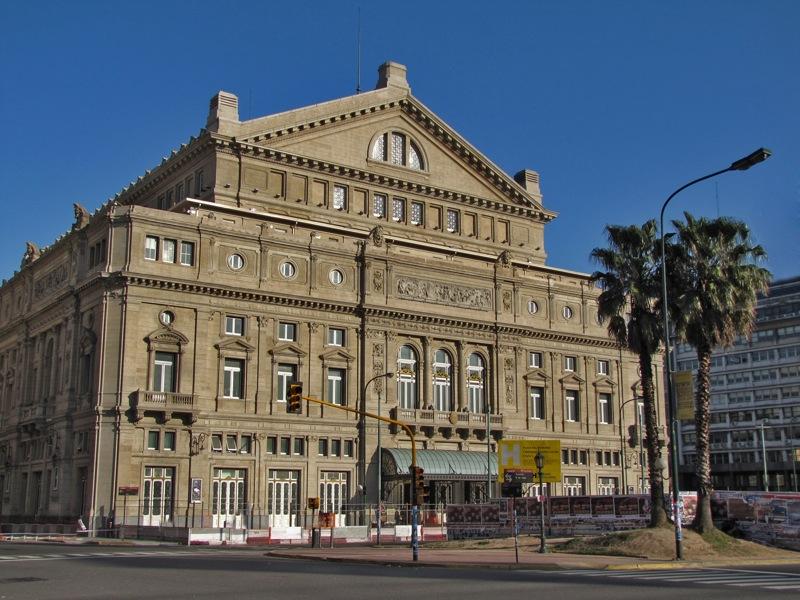 10. Театр «Колон». Оперный театр в  Буэнос-Айресе, Аргентина.