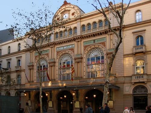 13. Лисео – театр в Барселоне и один из важнейших театров Испании открытый в 1847. Этот театр был построен на частные денежные средства.