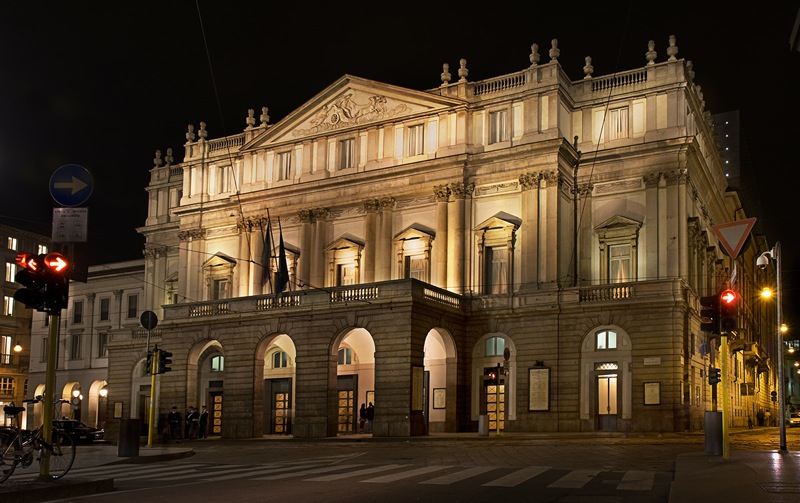 2. Ла Скала – Миланский театр основанный в 1778 году.