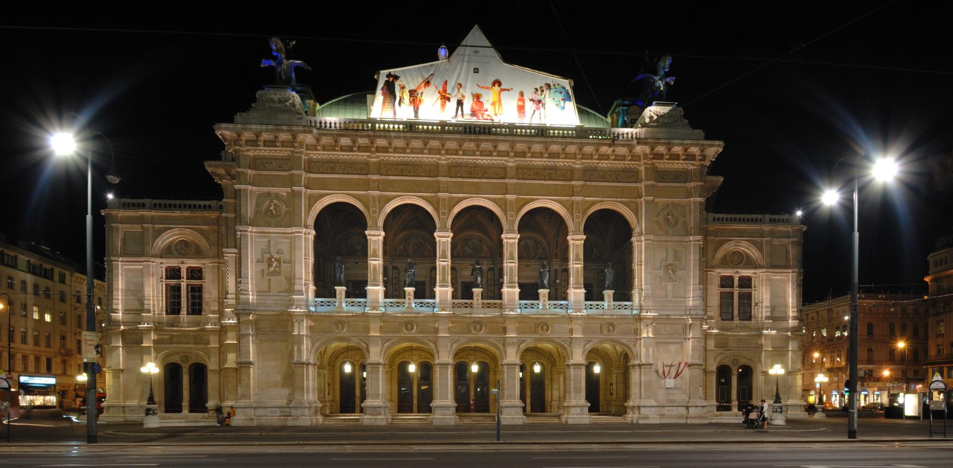 3. Венская государственная опера. Центр музыкальной культуры Австрии.