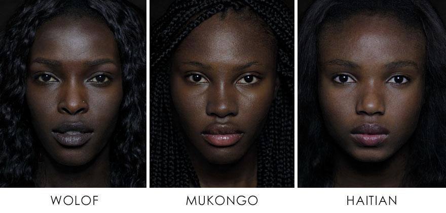 1. Волоф (народ в Западной Африке), Муконго (Африка), Гаити.