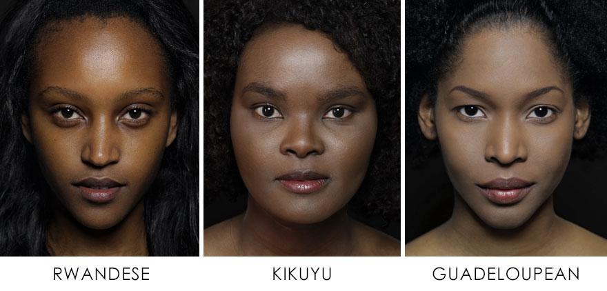 3. Руандийцы, Кикуйю (Кения), Гваделупы.