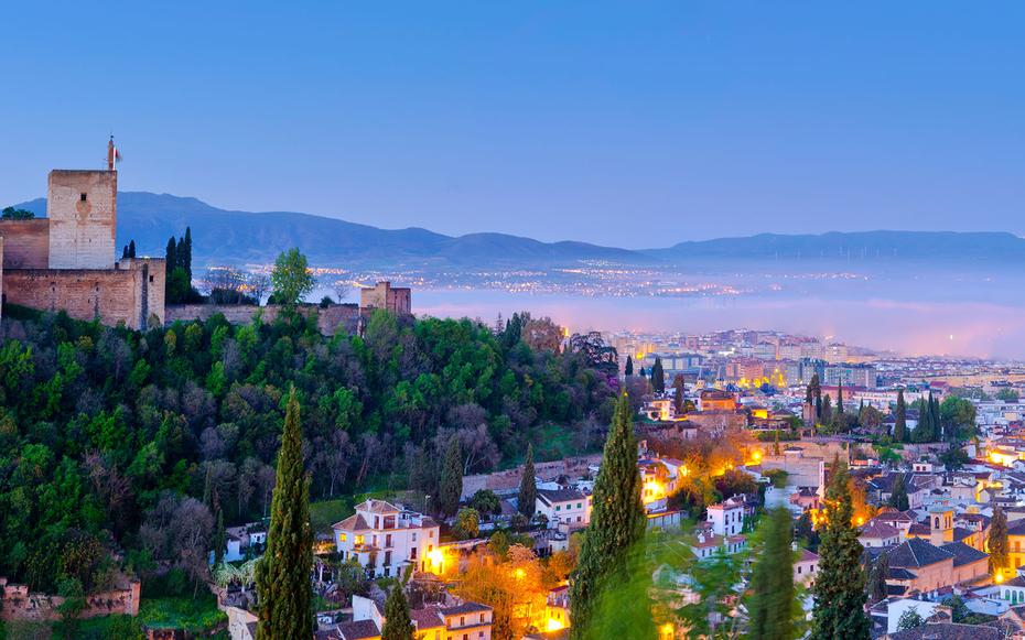 1. Гранада, Испания.