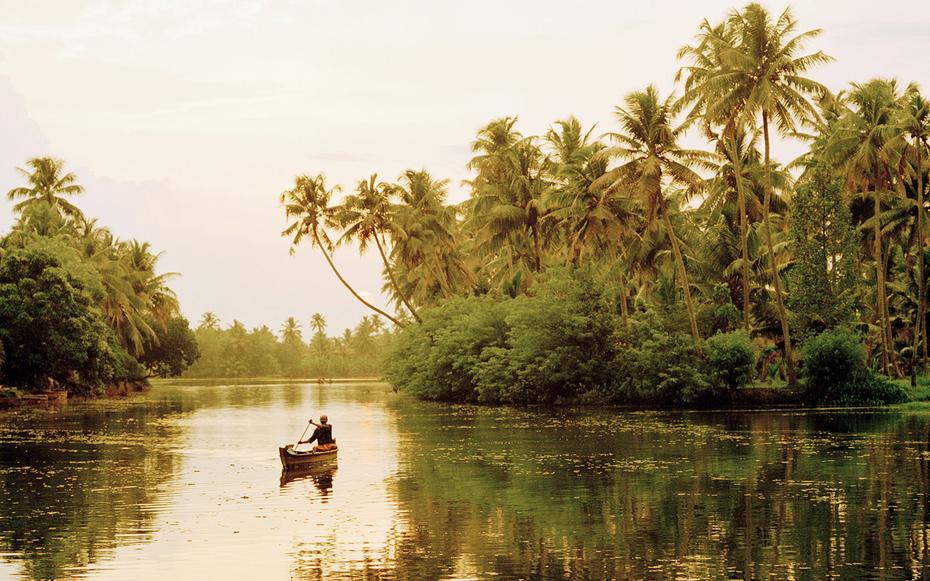 4. Штат Керала, Индия.