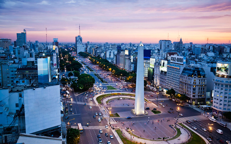 9. Буэнос-Айрес, Аргентина.