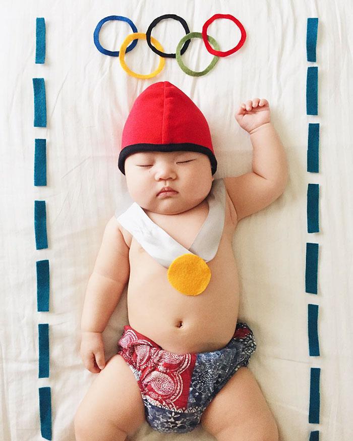 7. Олимпийский пловец.