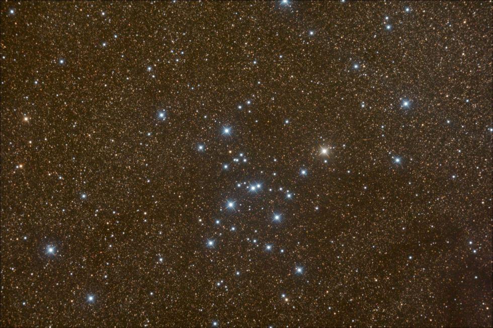 11. «Рассеянное скопление М7 в море звезд».