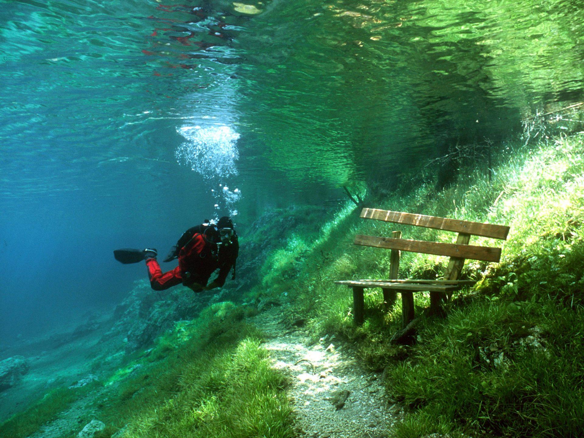 9. Зеленое озеро, Австрия.