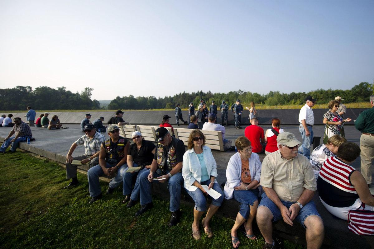 2. Мемориал рейсу 93 в Шанксвилл, округ Сомерсет,Пенсильвания.