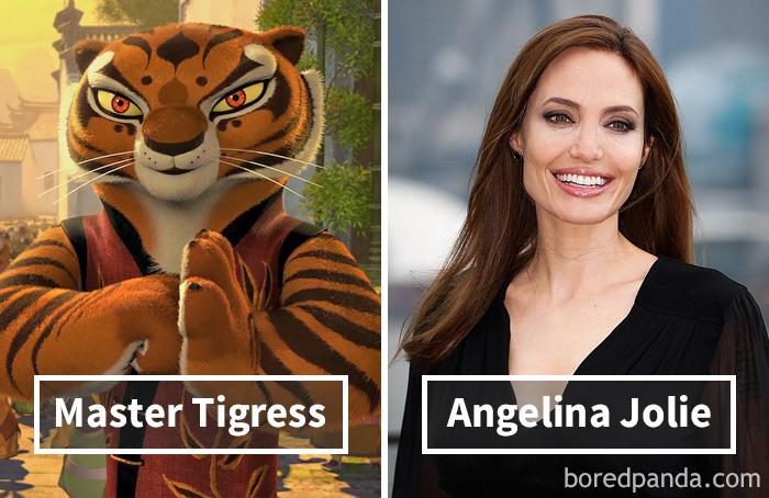 12. «Кунг-фу панда»: мастер Тигрица – Анджелина Джоли.