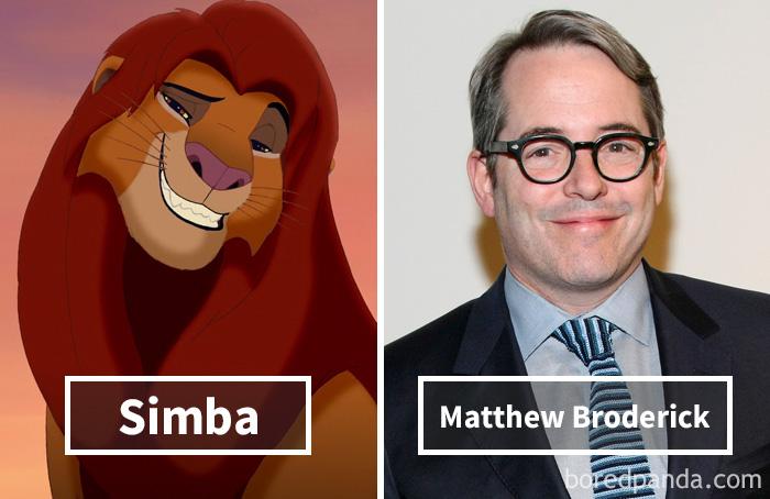 18. «Король Лев»: Симба – Меттью Бродерик.