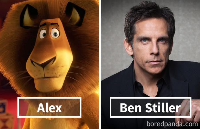 19. «Мадагаскар»: Алекс – Бен Стиллер.