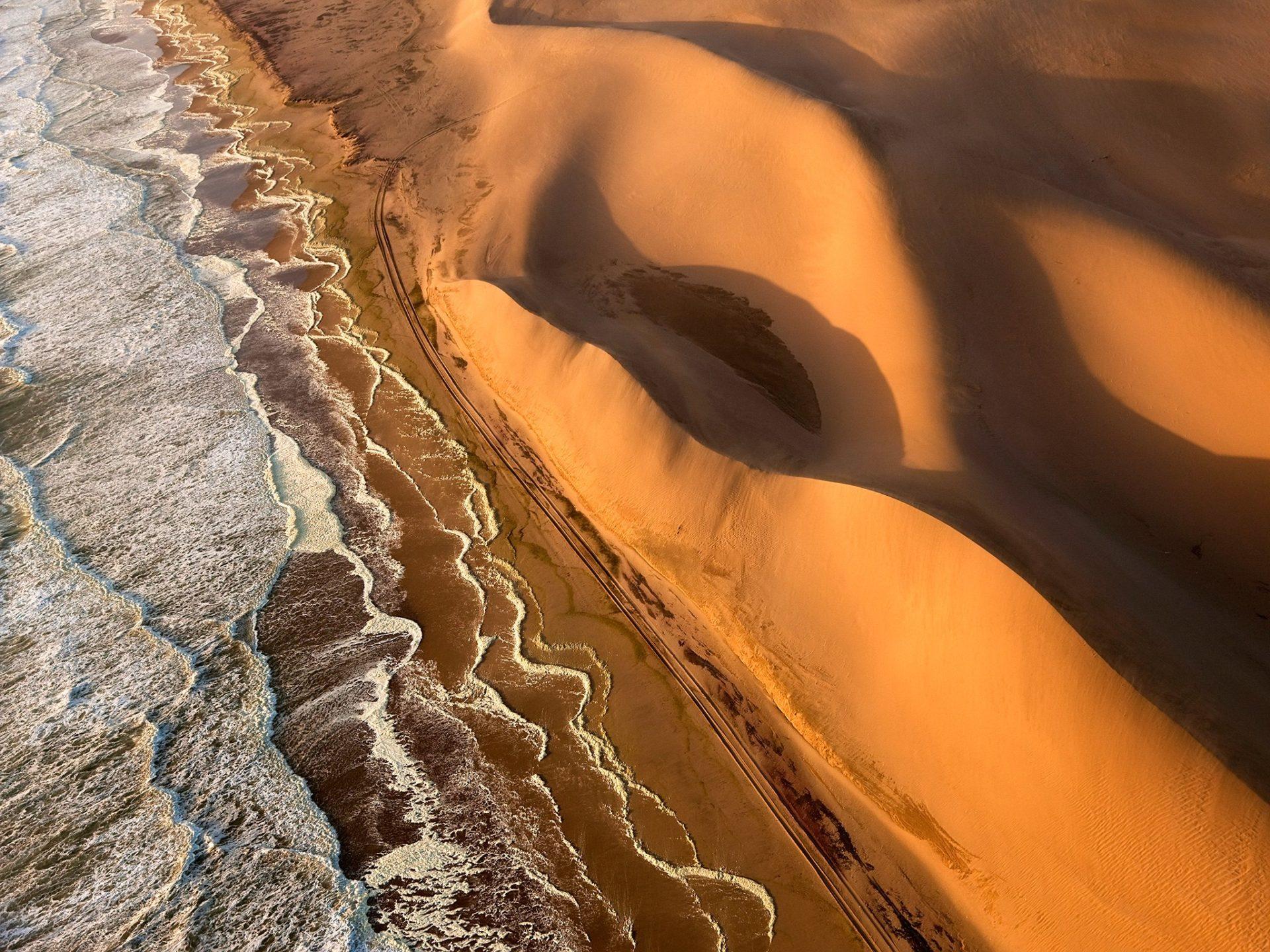 11. Берег скелетов, Намибия.
